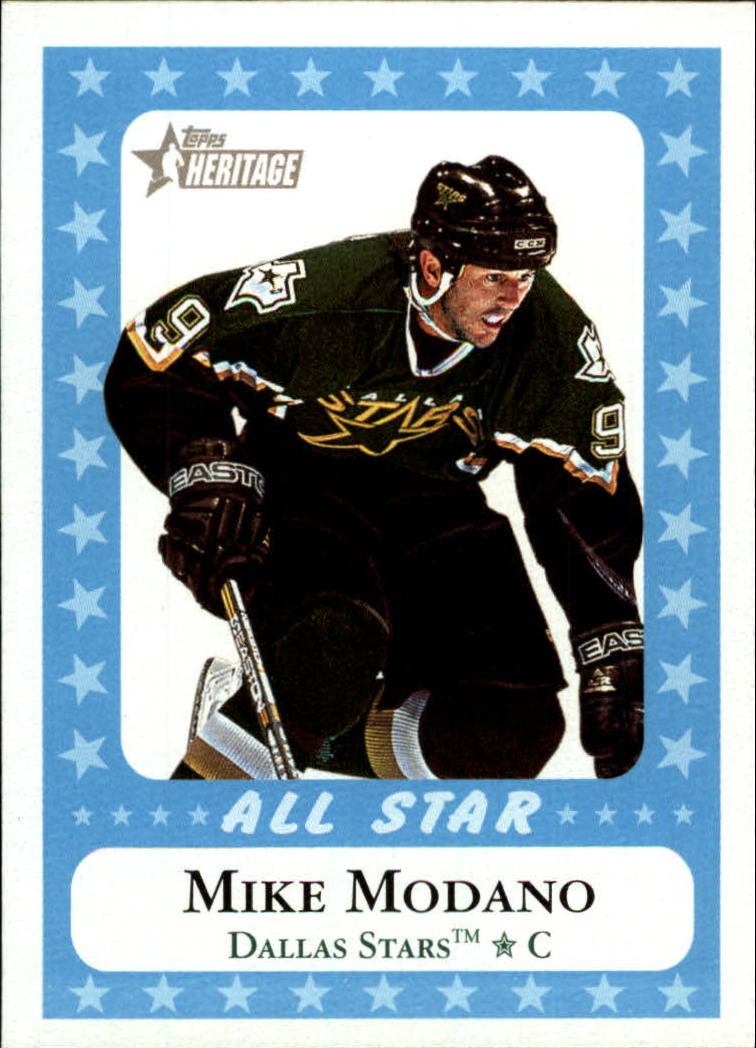 2000-01 Topps Heritage #217 Mike Modano AS