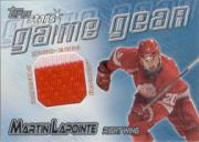2000-01 Topps Stars Game Gear #GGML Martin Lapointe J