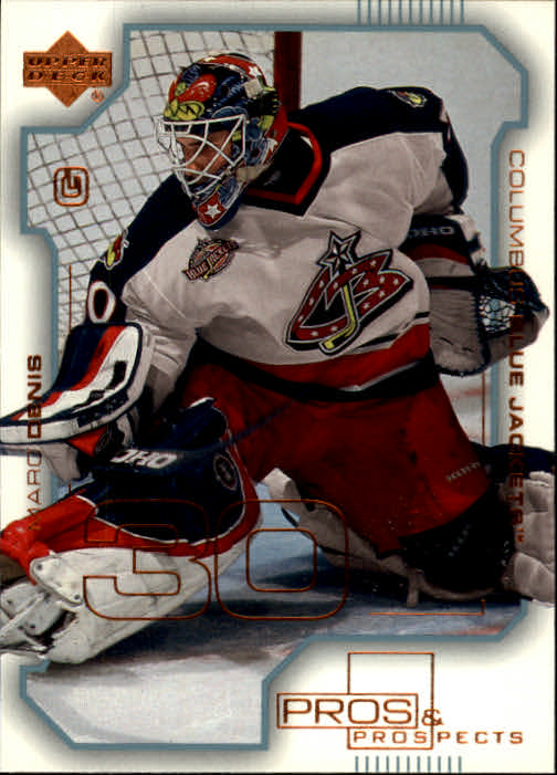 2000-01 UD Pros and Prospects #25 Marc Denis