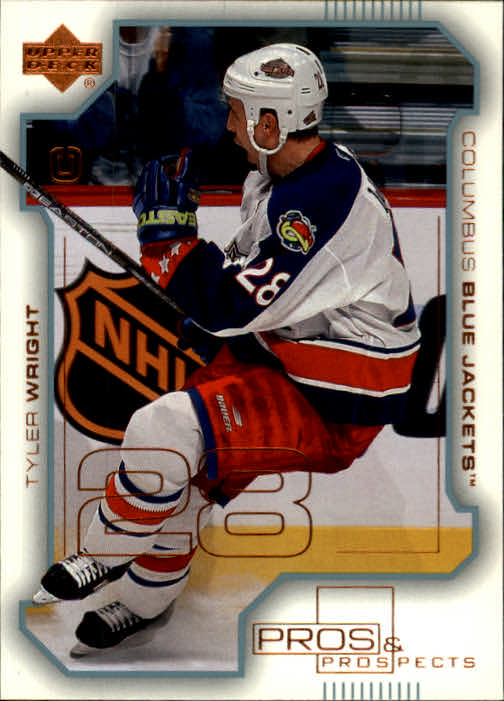 2000-01 UD Pros and Prospects #26 Tyler Wright