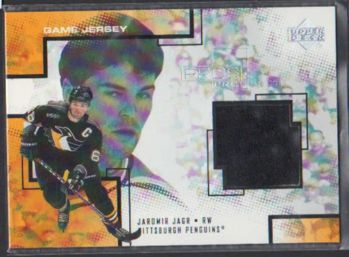 2000-01 UD Pros and Prospects Game Jerseys #JJ Jaromir Jagr