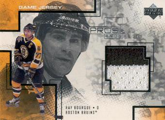 2000-01 UD Pros and Prospects Game Jerseys #RB Ray Bourque