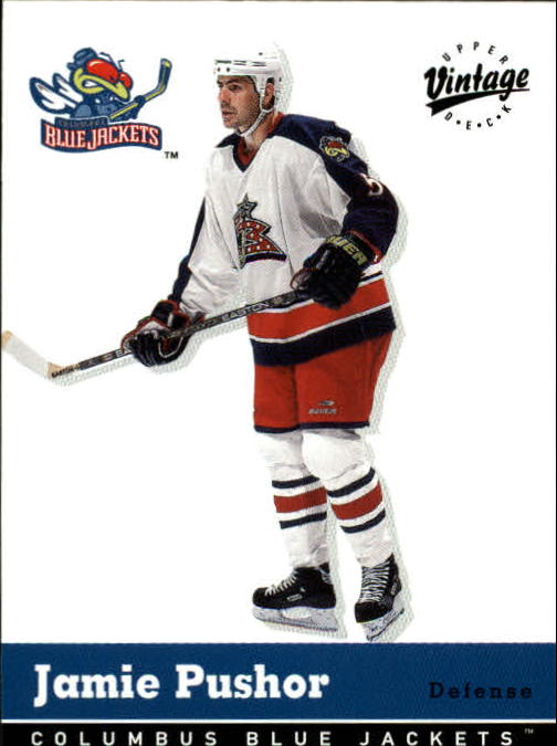 2000-01 Upper Deck Vintage #107 Jamie Pushor