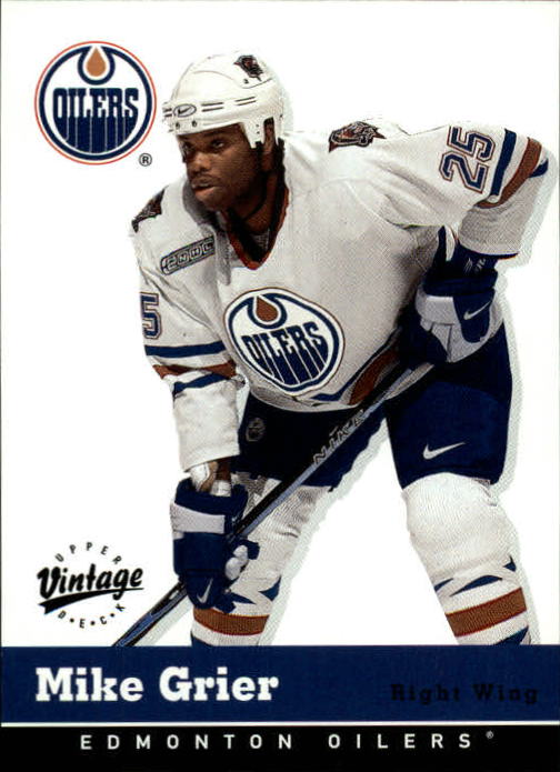 2000-01 Upper Deck Vintage #141 Mike Grier