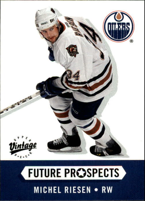 2000-01 Upper Deck Vintage #379 Michel Riesen RC