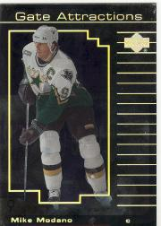 2000-01 Upper Deck Gate Attractions #GA5 Mike Modano