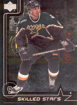 2000-01 Upper Deck Skilled Stars #SS8 Mike Modano