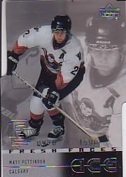 2000-01 Upper Deck Ice #41 Matt Pettinger RC