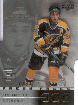 2000-01 Upper Deck Ice #48 Marc-Andre Thinel RC