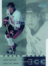 2000-01 Upper Deck Ice #50 Josef Vasicek RC