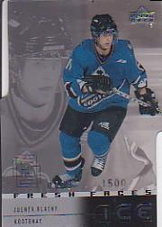 2000-01 Upper Deck Ice #53 Zdenek Blatny RC