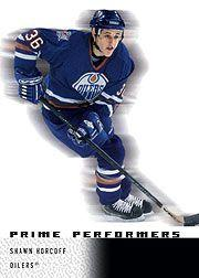 2000-01 Upper Deck Ice #87 Shawn Horcoff RC