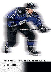 2000-01 Upper Deck Ice #89 Eric Belanger RC
