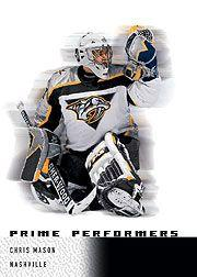 2000-01 Upper Deck Ice #93 Chris Mason RC