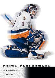 2000-01 Upper Deck Ice #94 Rick DiPietro RC