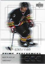 2000-01 Upper Deck Ice #95 Martin Havlat RC