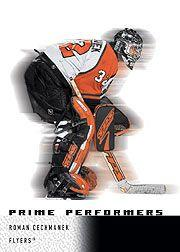 2000-01 Upper Deck Ice #96 Roman Cechmanek RC