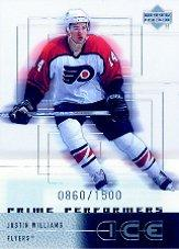 2000-01 Upper Deck Ice #97 Justin Williams RC