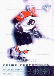 2000-01 Upper Deck Ice #98 Ruslan Fedotenko RC