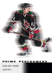 2000-01 Upper Deck Ice #99 Jean-Guy Trudel RC