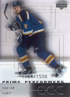 2000-01 Upper Deck Ice #100 Reed Low RC