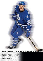 2000-01 Upper Deck Ice #101 Alexei Ponikarovsky RC