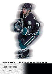 2000-01 Upper Deck Ice #103 Andy McDonald RC