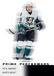 2000-01 Upper Deck Ice #104 Petr Tenkrat RC
