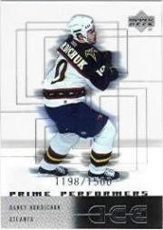 2000-01 Upper Deck Ice #106 Darcy Hordichuk RC