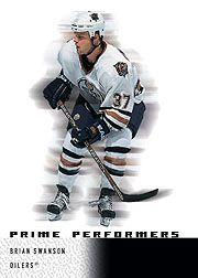 2000-01 Upper Deck Ice #112 Brian Swanson RC