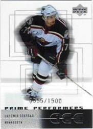 2000-01 Upper Deck Ice #113 Lubomir Sekeras RC