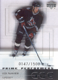 2000-01 Upper Deck Ice #119 Ossi Vaananen RC