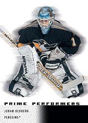 2000-01 Upper Deck Ice #120 Johan Hedberg RC