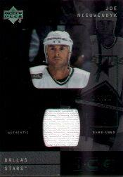 2000-01 Upper Deck Ice Game Jerseys #JCJN Joe Nieuwendyk