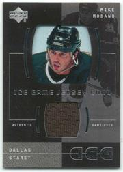 2000-01 Upper Deck Ice Game Jerseys #IMO Mike Modano Upd