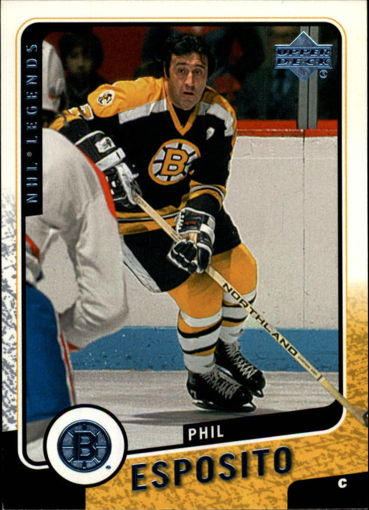 2000-01 Upper Deck Legends #7 Phil Esposito