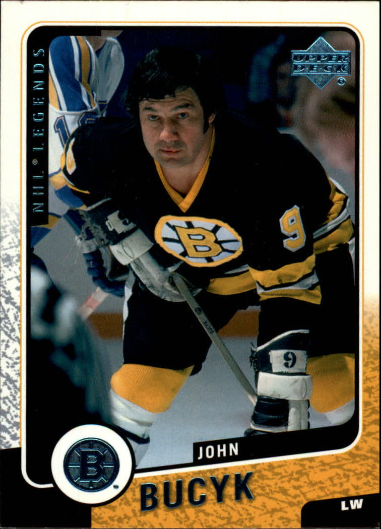2000-01 Upper Deck Legends #8 Johnny Bucyk