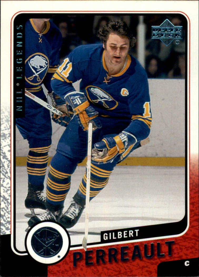 2000-01 Upper Deck Legends #14 Gilbert Perreault
