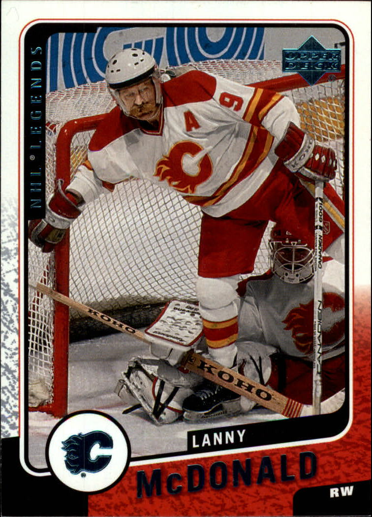 2000-01 Upper Deck Legends #19 Lanny McDonald