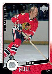 2000-01 Upper Deck Legends #25 Bobby Hull