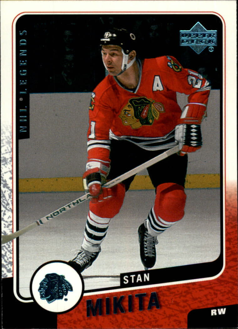 2000-01 Upper Deck Legends #26 Stan Mikita