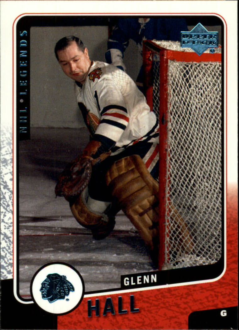 2000-01 Upper Deck Legends #28 Glenn Hall