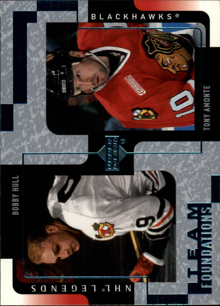 2000-01 Upper Deck Legends #30 Bobby Hull/Tony Amonte