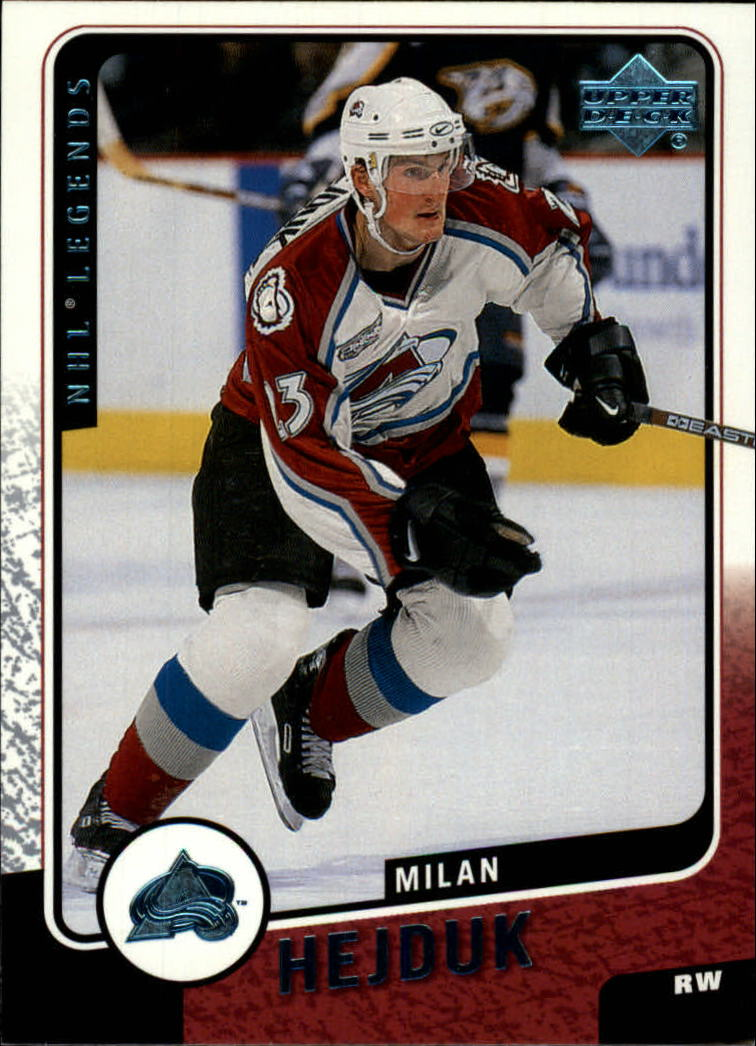 2000-01 Upper Deck Legends #35 Milan Hejduk