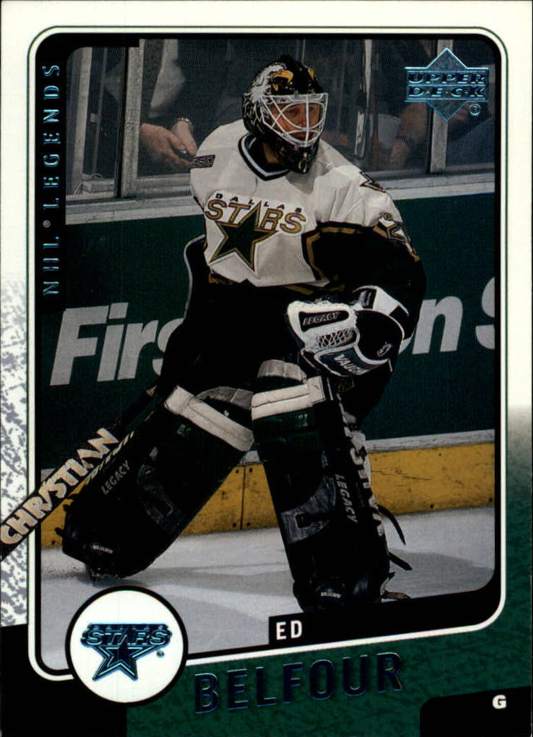 2000-01 Upper Deck Legends #38 Ed Belfour