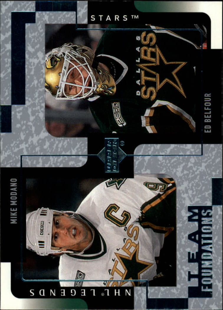 2000-01 Upper Deck Legends #40 Mike Modano/Ed Belfour
