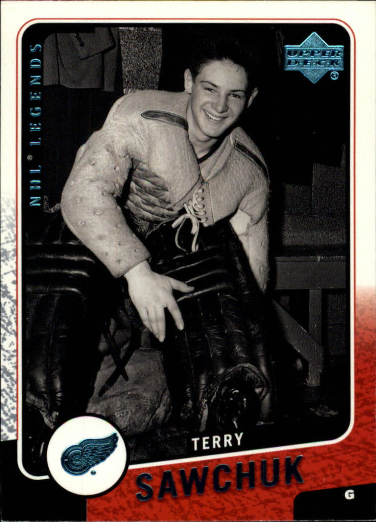 2000-01 Upper Deck Legends #43 Terry Sawchuk