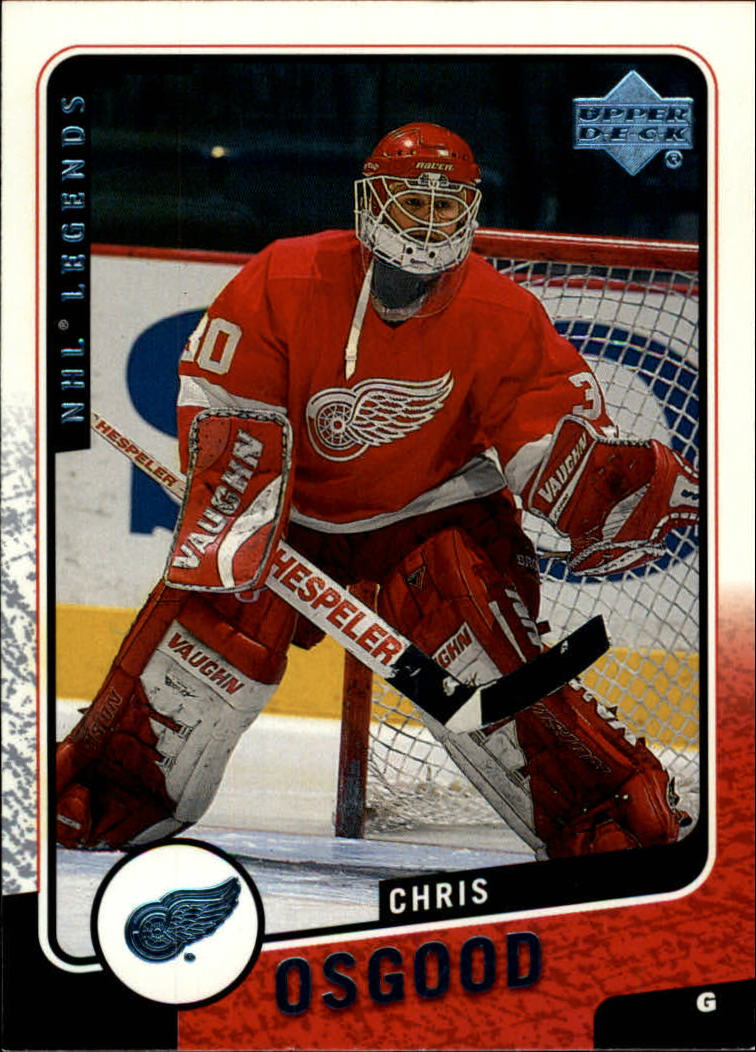 2000-01 Upper Deck Legends #45 Chris Osgood