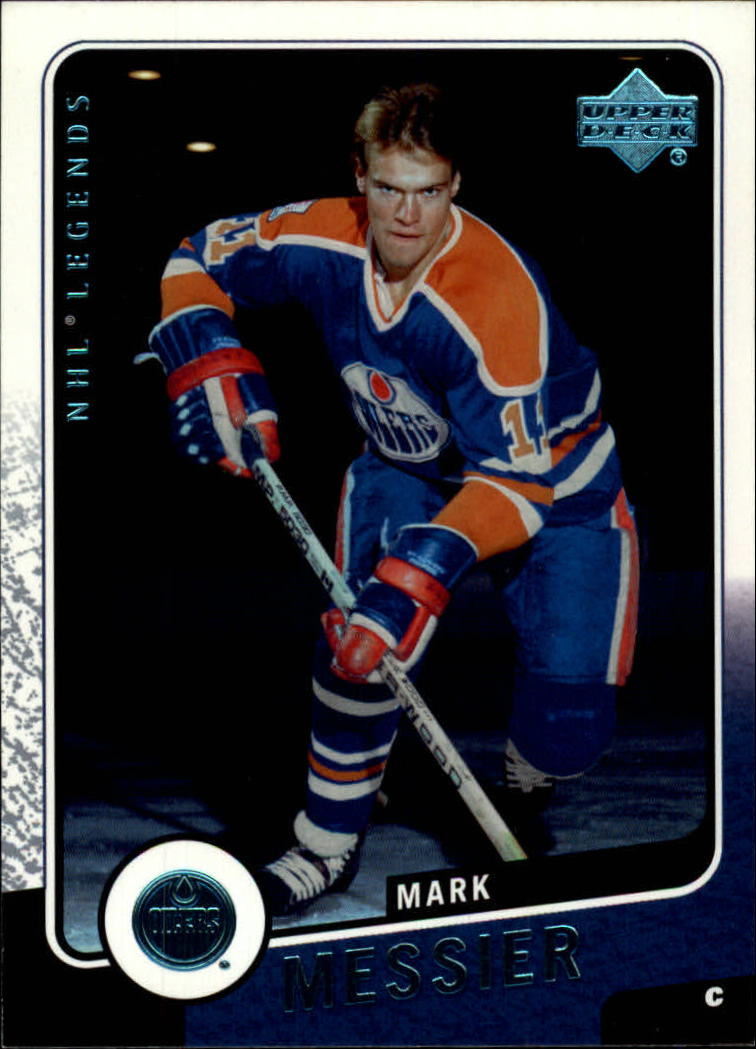 2000-01 Upper Deck Legends #51 Mark Messier