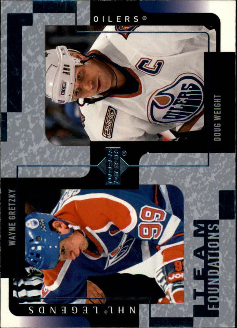 2000-01 Upper Deck Legends #54 Wayne Gretzky/Doug Weight